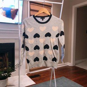 J.Crew Heart Sweater